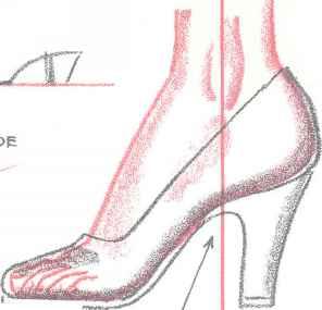 Drawn shoe anime draw Draw Arts Fashion: Heels Drapery