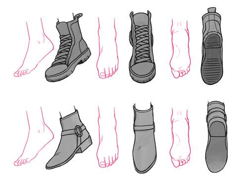 Drawn shoe anime draw Shoes Tutorials Szukaj w Drawing