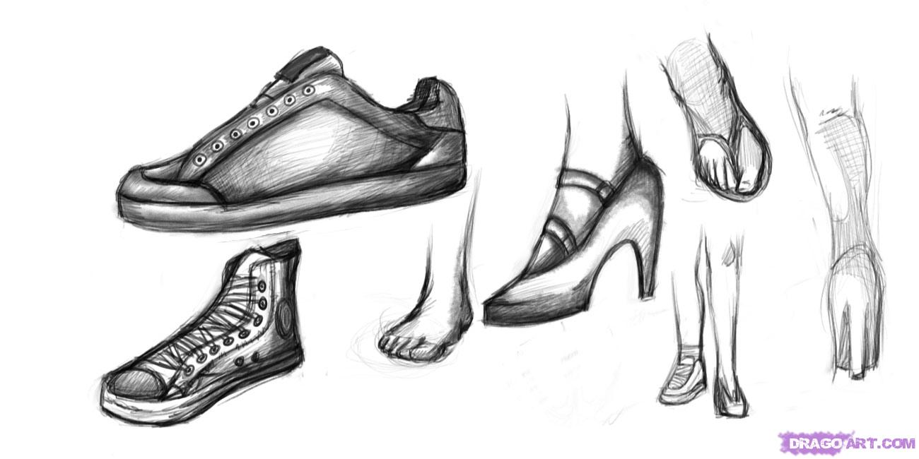 Drawn shoe anime guy Shoes Drawing Anime Draw images