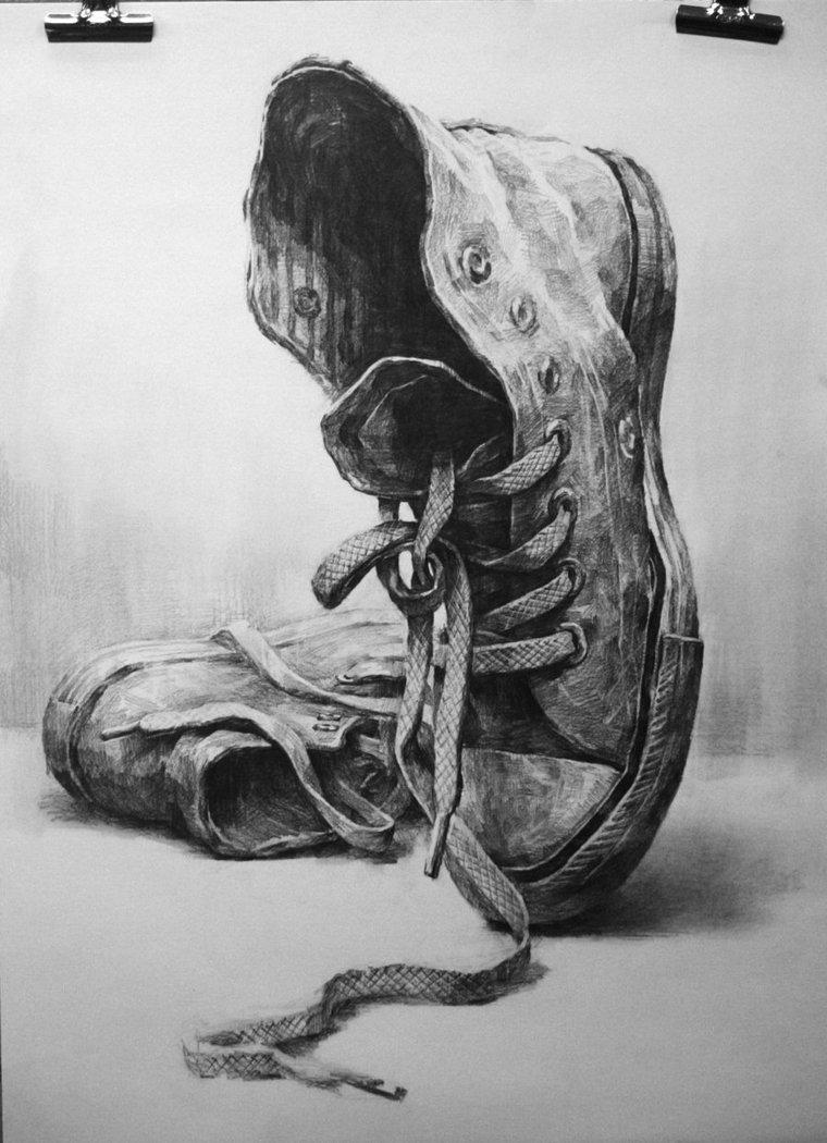 Drawn shoe art By Art deviantART shoes5 on