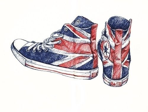 Drawn converse artistic 80 Tumblr on images Pinterest