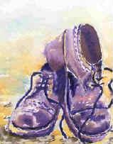 Drawn shoe art Shoes Art Lesson Shoe shoes