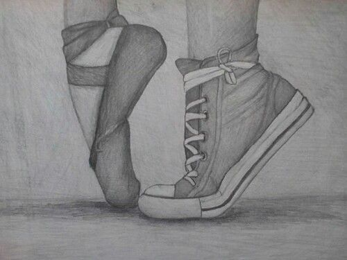 Drawn shoe awesome Best How · ballet to