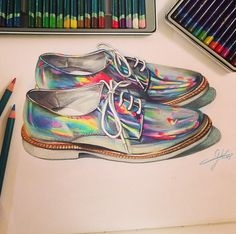 Drawn shoe awesome IllustrationThe Sketchbook nastygal any footwear