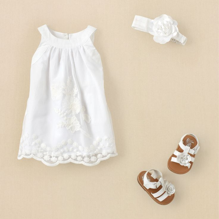 Drawn shoe baby dress Children's dress fresh dressed Clothing…