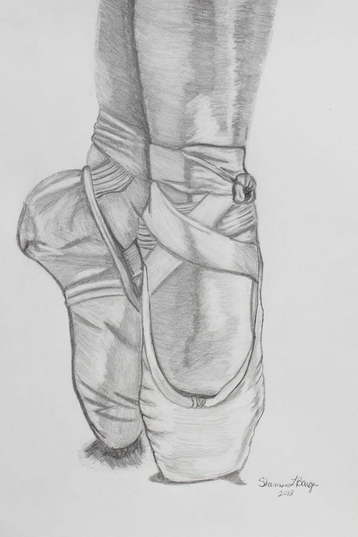 Drawn ballerina ballet slipper #6