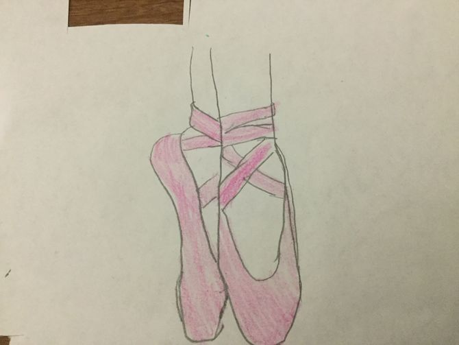 Drawn shoe ballet slipper Pictures) Easy 3 to Ways