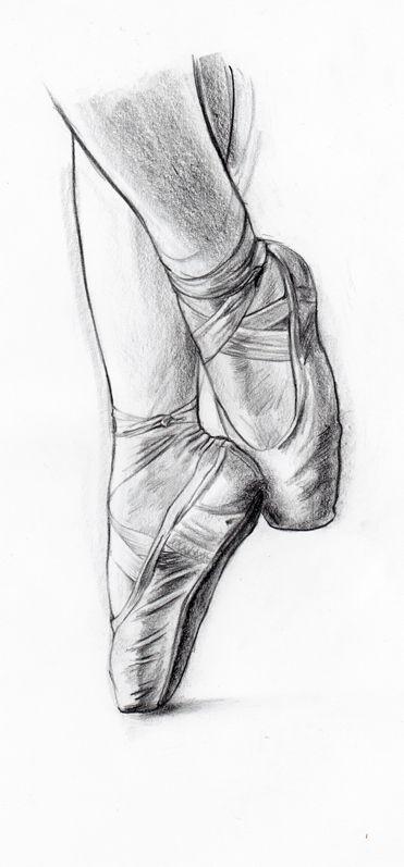 Drawn shoe ballet slipper Ballet took for 169 Shoes