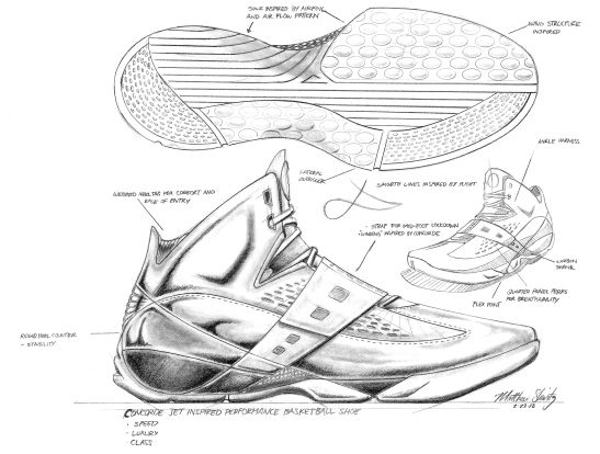 Drawn shoe basketball shoe Sneakers Pinterest  basketball shoe