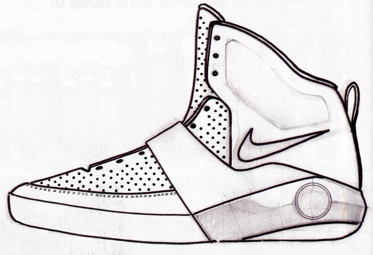 Drawn shoe basketball shoe Shoes Sneaker more Smith's Week