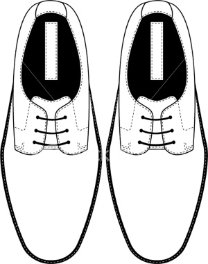 Drawn shoe blank Illustration template shoe Top Google