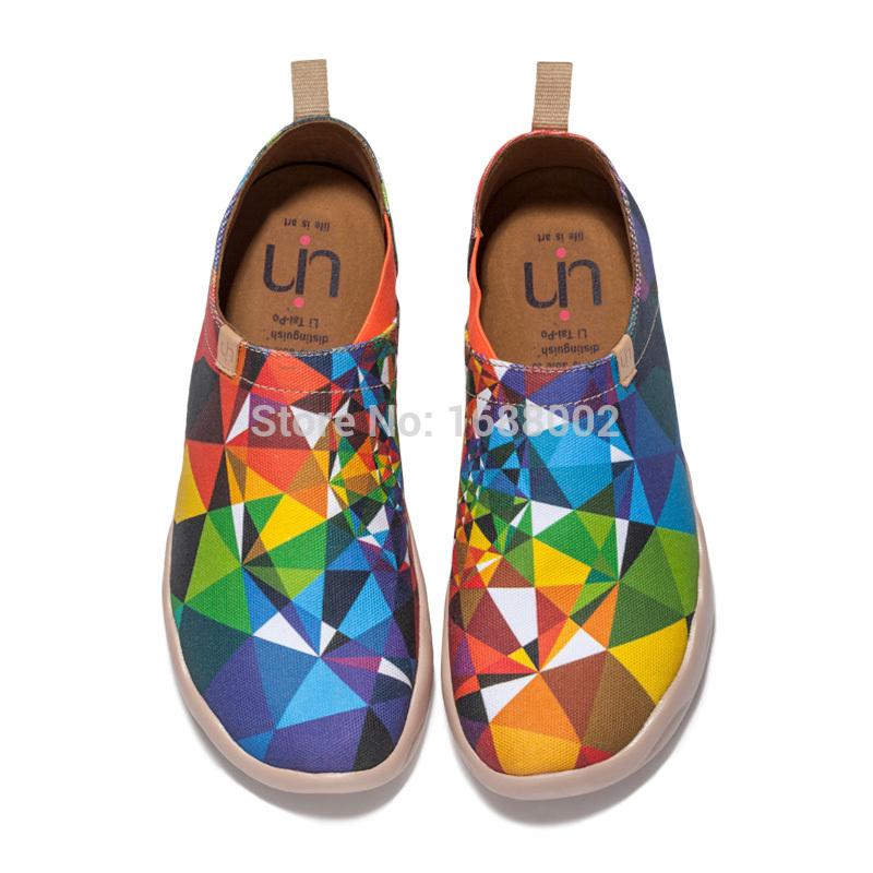 Drawn shoe canvas shoe Men GDS001 Fitness Colored Uin