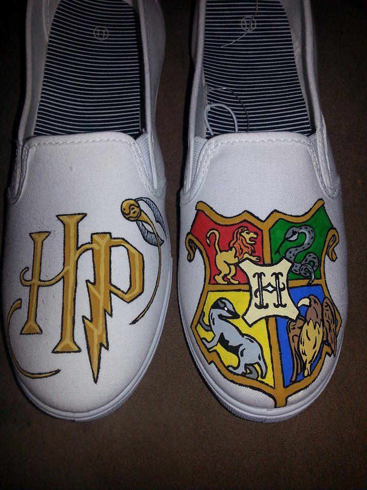 Drawn shoe canvas shoe Of best canvas Harry shoes