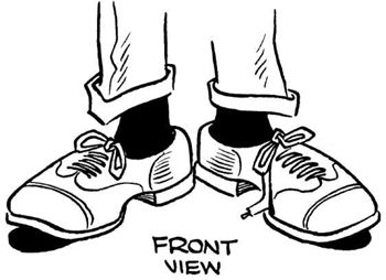 Drawn shoe cartoon Draw comics Draw Pinterest Drawing