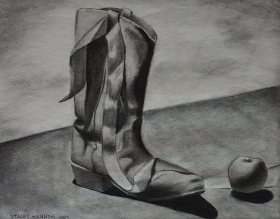 Drawn shoe charcoal Charcoal 194 00 and Cowboy