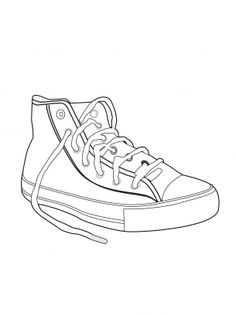 Drawn shoe chuck taylors 1 Chuck by sneaker Converse