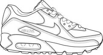 Drawn shoe coloring page #4