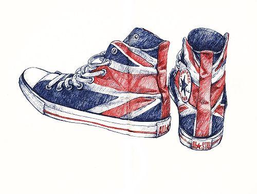 Drawn shoe converse On 25+ converse drawing drawing