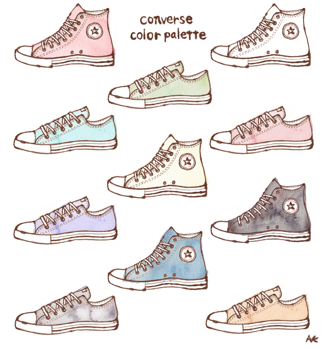 Drawn shoe converse high top Converse shoes how Mercy how