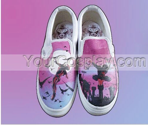 Drawn shoe custom drawn Hand Shoes Custom 037 Perfect