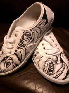 Drawn shoe custom drawn A Hand of a a