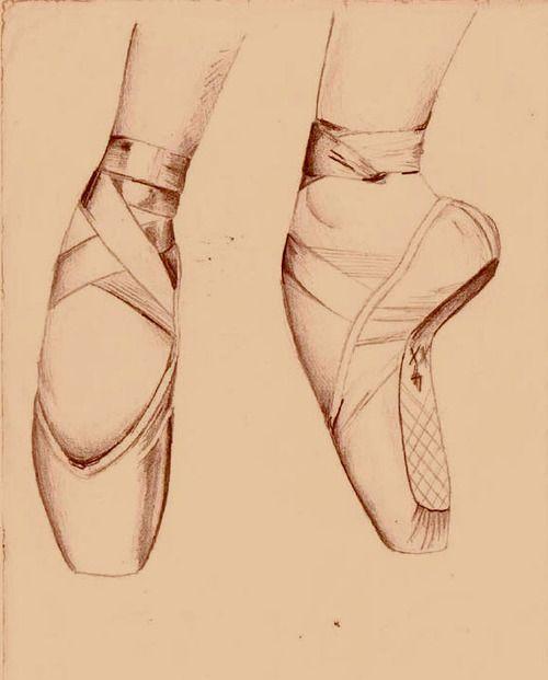 Drawn shoe dance shoe DeviantART) shoes livia ballet shoes