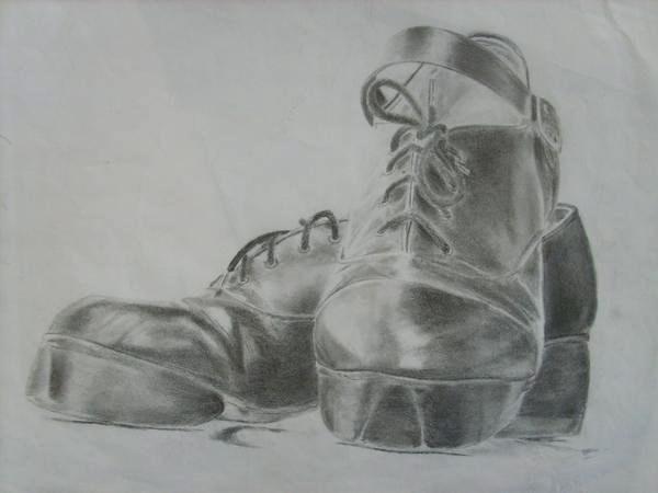 Drawn shoe dance shoe On by Penny52 Irish Irish