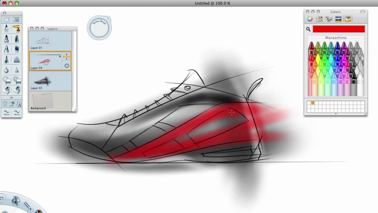 Drawn shoe design sketch basketball Quick sketch tutorial Basketball tutorial