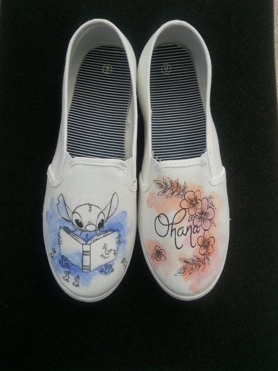 Drawn shoe disney Discover Disney White Made