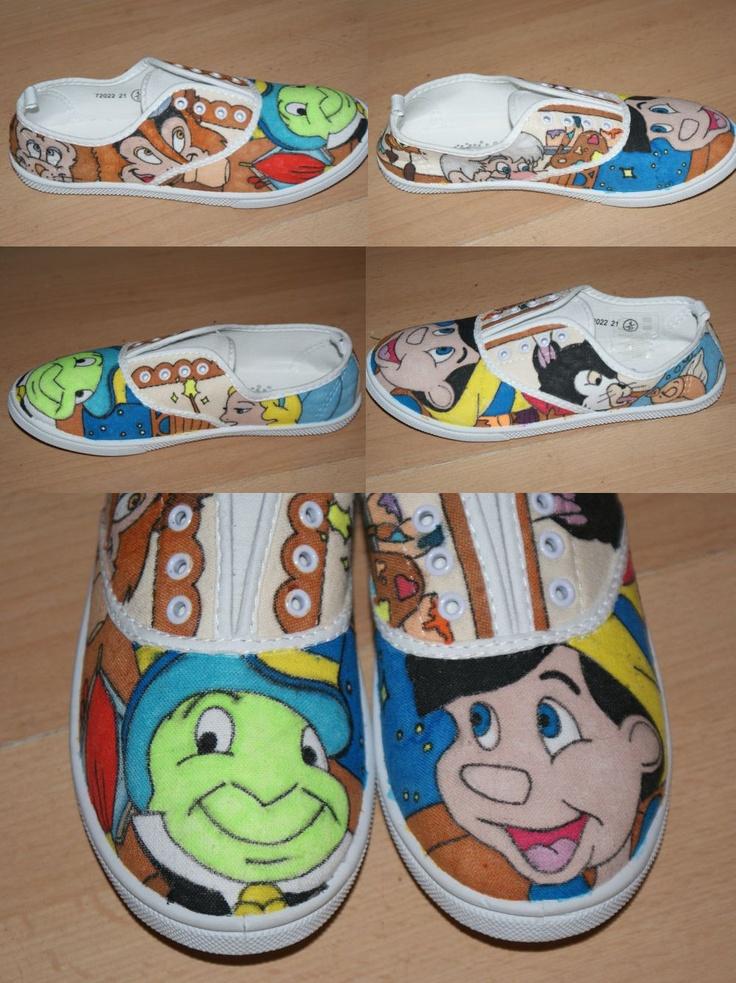 Drawn shoe disney Pinocchio by Shoe about 18