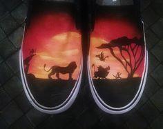 Drawn shoe disney SOMEONE HAND Lion in