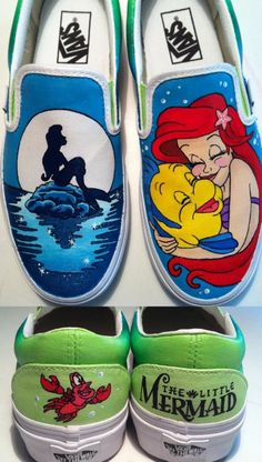 Drawn shoe disney The Mermaid Hand shoes THESE!