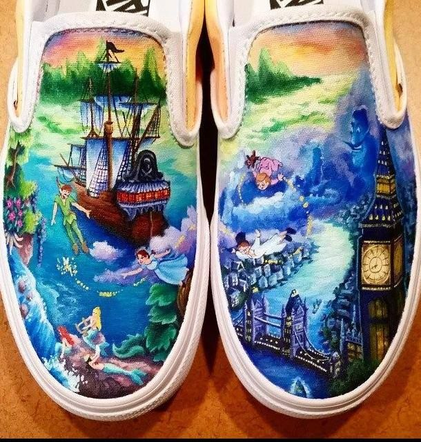 Drawn shoe disney Pinterest these love Painted Best