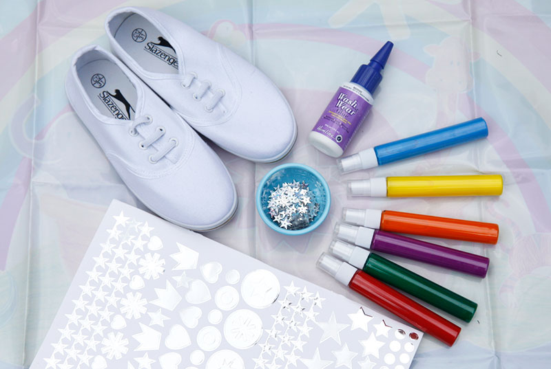 Drawn shoe diy kid DIY For Kids Kids DIY