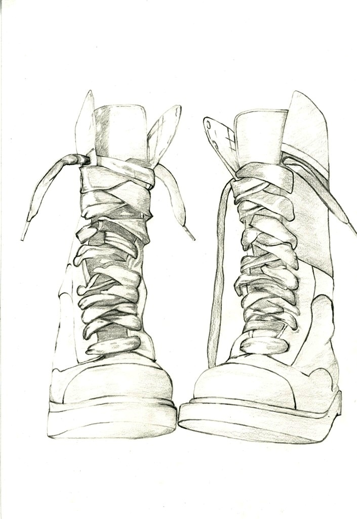 Drawn boots Shoes images How to Pinterest