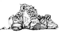 Drawn shoe famous artist Artists Lesson Shoe shoes draw