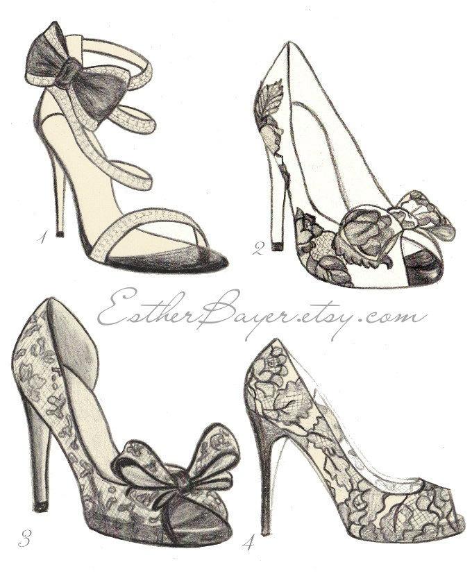 Drawn shoe fashion sketch 25+ Pinterest on  Best