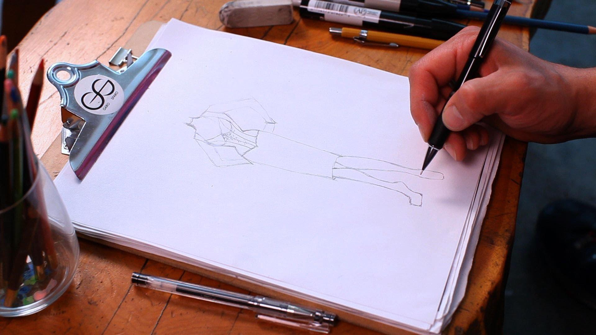 Drawn shoe fashion sketch Draw Shoes Sketching Draw YouTube