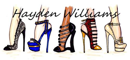 Drawn shoe fashion sketch Fashion williams illustrator illustration sketches
