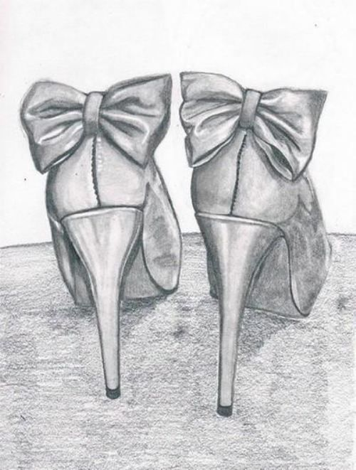 Drawn shoe female #11