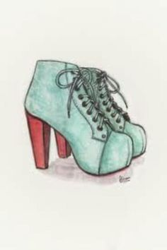 Drawn shoe female #12