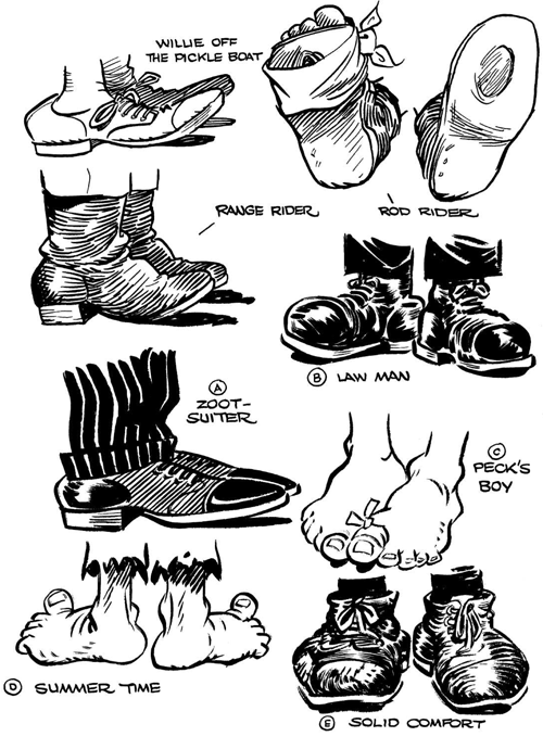 Drawn shoe foot & Draw How When Cartoon