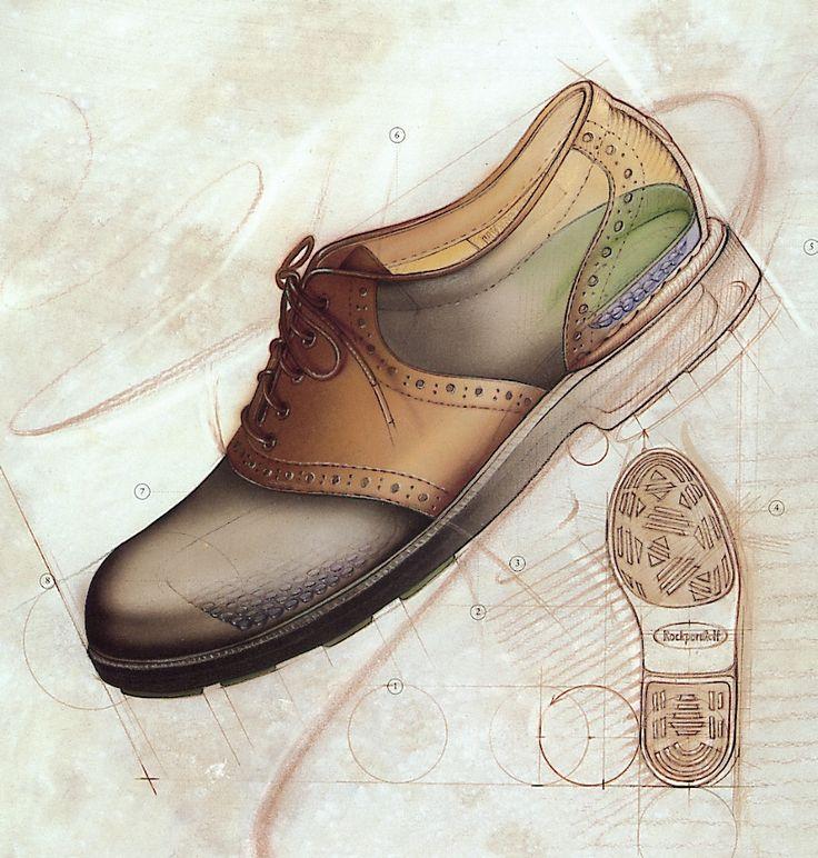 Drawn shoe footwear #5