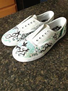 Drawn shoe footwear #3