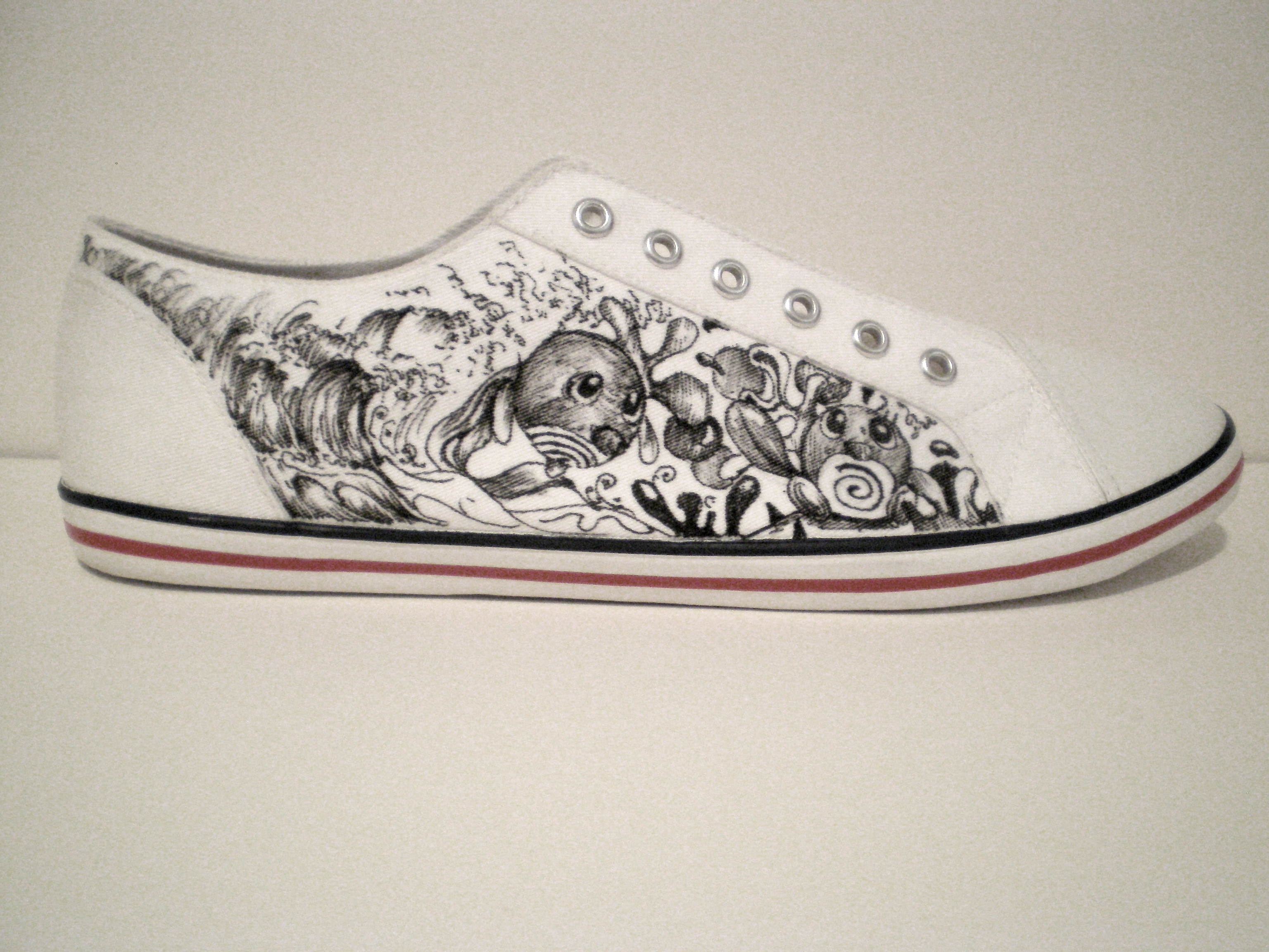"Drawn shoe have been Shoes…""Lets our Canvas A into"