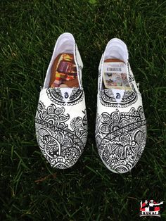 Drawn shoe henna More this Google painted hippie