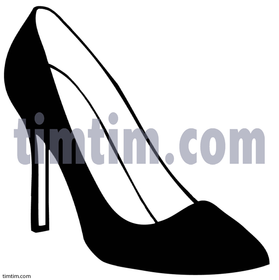Drawn shoe high heel Heels High Heels  Drawing