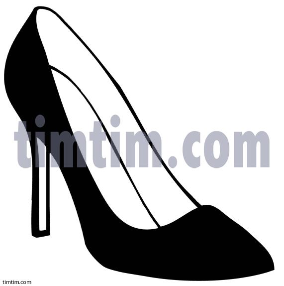 Drawn shoe high heel Heels High High pictures Heels