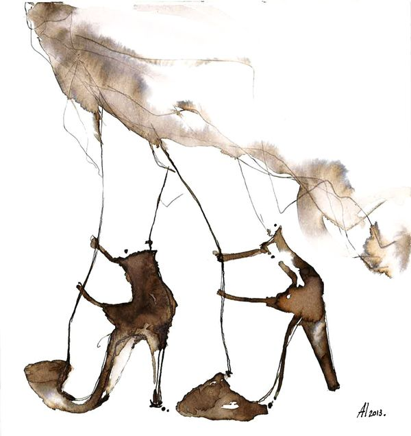 Drawn shoe high heeled shoe And drawing Find images 116