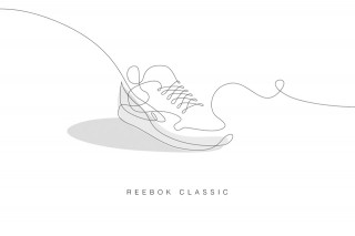 Drawn shoe illustrated With Just Sneakers With 1